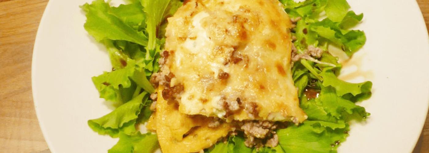 Low Carb Lasagne - Eierlasagne