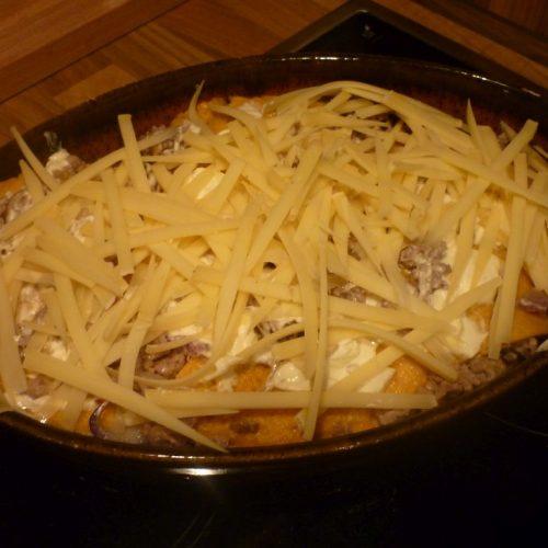 Gouda zum überbacken der Low Carb Lasagne